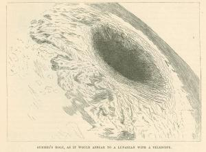 """Symmes' Hole as it Would Appear to a Lunerian with a Telescope"""
